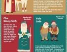 Khám phá những phiên bản ông già Noel trên khắp thế giới