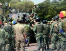Xe tăng Đài Loan vỡ nòng pháo khi tập trận