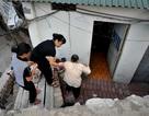 """Nhà dân biến thành """"hầm"""" sau dự án đường đắt kỷ lục ở Hà Nội"""