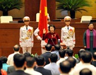 Chủ tịch Quốc hội hứa hành động vì lợi ích nhân dân, vì danh dự dân tộc