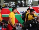 Đội tuyển Việt Nam đổ bộ Indonesia sau chuyến bay sóng gió