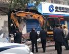 Trung Quốc: Dùng máy xúc để trộm tiền ngân hàng
