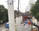 """Dự án đường sắt đô thị Nhổn - ga Hà Nội: Tiến độ """"rùa bò"""", giá tăng gấp rưỡi"""
