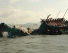 Tàu vận tải va chạm đò chở khách, 1 người mất tích dưới sông