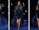 Dàn chân dài tỏa sáng trong show Versace