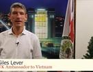 Đại sứ Anh chúc mừng Giáng sinh và năm mới bằng tiếng Việt