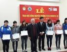 Quỹ Khuyến học Việt Nam trao 30 suất học bổng đến sinh viên nghèo vượt khó Trường ĐH Lâm nghiệp