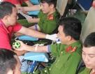 Tuổi trẻ Công an Bạc Liêu hăng hái hiến máu tình nguyện