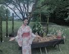 Á hậu quốc tế Thúy Vân xinh đẹp trong bộ kimono