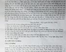 Sai sót trong đề kiểm tra Ngữ văn lớp 12:  Đưa Ninh Thuận, Bình Thuận về ĐBSCL