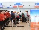 Rực rỡ sắc cam tại lễ khai trương sân bay Cát Bi