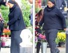 Janet Jackson bế bụng bầu ở tuổi 50
