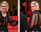 Kristen Stewart gây choáng với áo xuyên thấu
