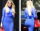Choáng với váy bó của Khloe Kardashian
