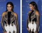 """Kim Kardashian """"bó mình"""" trong chiếc váy ôm sát xuyên thấu"""
