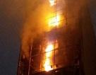 Hà Nội: Cháy dữ dội quán Karaoke 7 tầng trên đường Nguyễn Khang