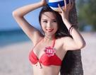 Hoa hậu Kỳ Duyên sốc khi bị ghép ảnh trên trang khiêu dâm