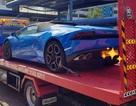 Siêu xe Lamborghini bị tạm giữ, tài xế bị bắt vì vượt ẩu
