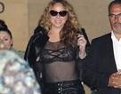 Choáng với áo xuyên thấu của Mariah Carey