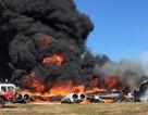 Máy bay ném bom B-52 của Mỹ rơi ở đảo Guam, bốc cháy ngùn ngụt
