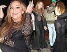 Choáng với váy hở bạo của Mariah Carey