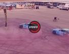 Hai xe Mustang lập kỷ lục drift