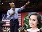 """Cô gái Việt """"thắp lửa"""" ước mơ và 3 lần diện kiến Tổng thống Mỹ"""