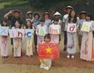 """Sinh viên Nhật quảng bá áo dài, phở xào Việt Nam tại """"Lễ hội mùa hè"""""""