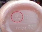 Những con số dưới đáy chai lọ bằng nhựa có ý nghĩa gì?