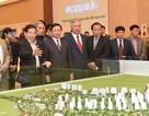 Nguyên Chủ tịch nước Nguyễn Minh Triết thăm khu đô thị Ecopark