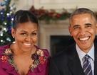 Vợ chồng Tổng thống Obama chúc mừng Giáng sinh lần cuối tại Nhà Trắng