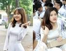 Xao xuyến tà áo dài nữ sinh Phan Đình Phùng ngày bế giảng