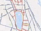 Bản đồ phân luồng giao thông tuyến phố đi bộ khu vực Hồ Gươm