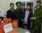 Một người Trung Quốc mang 50 kg pháo nổ sang Việt Nam bán