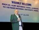 Giáo sư đoạt giải Nobel Hóa học thuyết trình tại ĐH Quốc gia Hà Nội