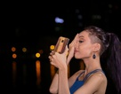 La Thanh Thanh khoe kiểu đầu cạo trọc trong ảnh selfie ở hậu trường Vietnam's Next Top Model