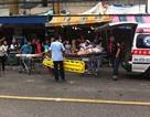 Nổ bom trên phố đi bộ Thái Lan, 5 người bị thương