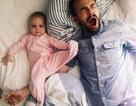 Không phải mẹ, cha mới là người ngủ ít vì con