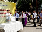 Trường ĐH Kinh tế Quốc dân quyên góp gần 100 triệu đồng tại lễ phát động ủng hộ các tỉnh Miền Trung