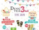 Mừng 3 năm sinh nhật hệ thống Ding Tea – trúng quà lớn.