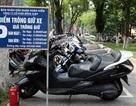 Hà Nội: Gửi xe cạnh phố đi bộ bị chém đẹp 50.000 đồng/xe