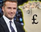 """Kiếm được gần hai tỉ đồng/ngày, David Beckham lọt top sao """"siêu"""" giàu"""
