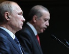 Ông Putin lên tiếng ủng hộ Tổng thống Thổ Nhĩ Kỳ sau âm mưu đảo chính