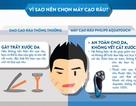 Vì sao nên chọn máy cạo râu?
