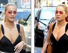 Sau tin đồn nâng ngực, Rita Ora diện áo hở bạo ra phố