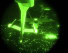 """Cận cảnh """"Chim ăn thịt"""" F-22 tiếp nhiên liệu trong đêm"""