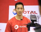 Tóc Tiên cháy hết mình cổ vũ Tiến Minh tại ngày hội cầu lông Total 2016