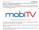 Truyền hình An Viên-MobiFone đổi tên thành mobiTV