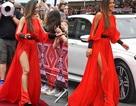Ca sỹ Mỹ diện váy xẻ cao khiêu khích