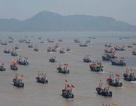 Hơn 200 tàu cá Trung Quốc dàn hàng ở biển Hoa Đông